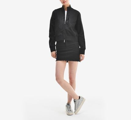 MONCLER アウターその他 【MONCLER】19SS ビッグロゴ ジップアップジャケット BLACK/EMS(17)