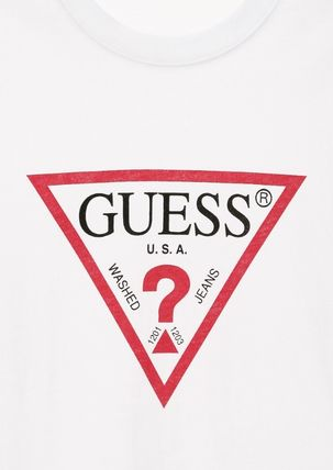 Guess Tシャツ・カットソー ☆韓国の人気☆【GUESS】☆オリジナル▽ 長袖 Tシャツ☆2色☆(5)