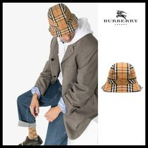 ◆Burberry◆ チェック バケット ハット CHECK BUCKET HAT