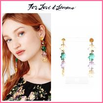 For Love & Lemons(フォーラブアンドレモン) ピアス 19-20AW!! ☆For Love & Lemons*  Billie Jean Tiered Earrings