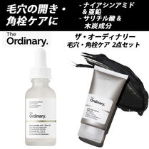 THE ORDINARY★毛穴&角栓ケア 2点セット|オーディナリー 黒ずみ