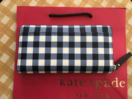 kate spade new york 長財布 Kate Spade★Hyde Lane Gingham Michele★かわいいチェック柄(2)