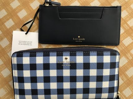 kate spade new york 長財布 Kate Spade★Hyde Lane Gingham Michele★かわいいチェック柄(4)