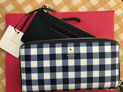 kate spade new york 長財布 Kate Spade★Hyde Lane Gingham Michele★かわいいチェック柄(5)