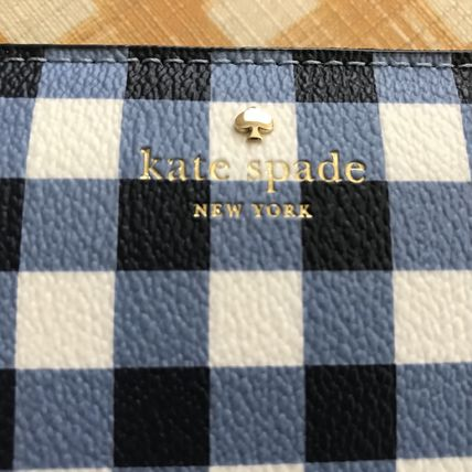 kate spade new york 長財布 Kate Spade★Hyde Lane Gingham Michele★かわいいチェック柄(12)
