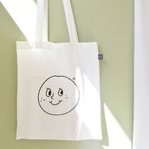★oh lolly day★韓国エコバッグ トートバッグ smile cotton bag