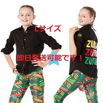 L即納2019.8☆ZUMBA】ZW Juniors For All Button Up J1T00016