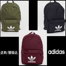 【adidas】Originals logo backpack ロゴ リュック 3色 ♪