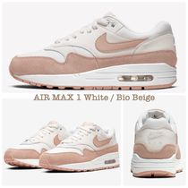 大人気カラー☆NIKE☆Air Max 1 WHITE / BIO BEIGE