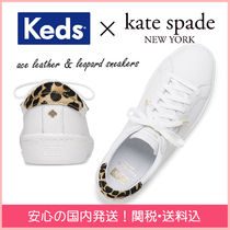 【国内発送】kedsコラボ ace leather & leopard sneakers セール
