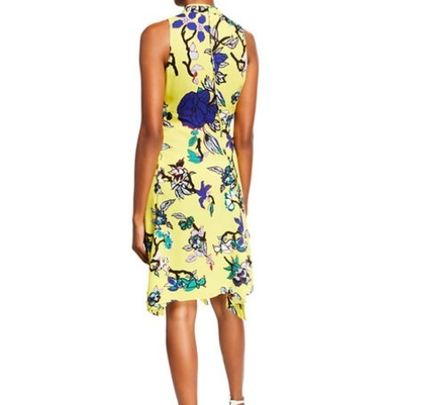 DIANE von FURSTENBERG ワンピース DVF Carmen Floral Handkerchief Dress(2)