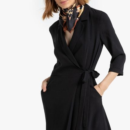 LA Redoute ワンピース La Redoute Neck dress portfolio tailor, 3/4 sleeves(2)