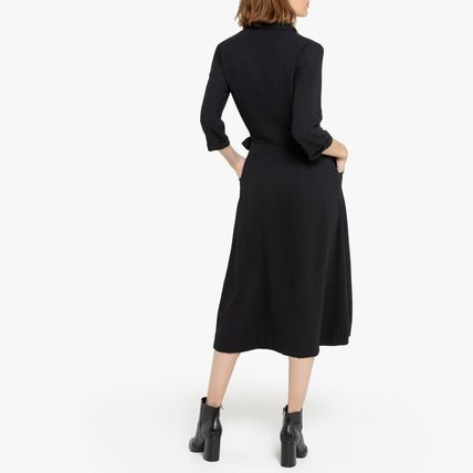 LA Redoute ワンピース La Redoute Neck dress portfolio tailor, 3/4 sleeves(3)