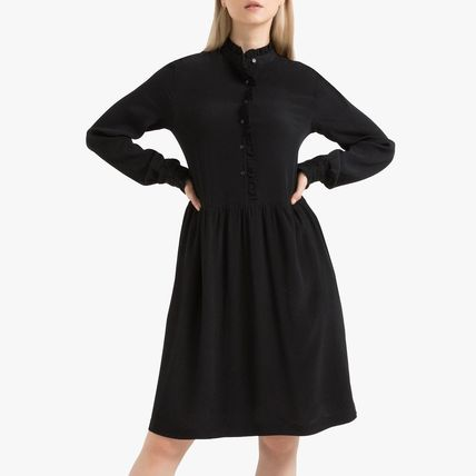 LA Redoute ワンピース La Redoute Flared Dress, long sleeves