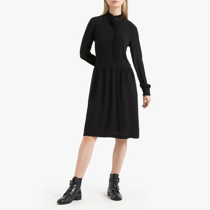 LA Redoute ワンピース La Redoute Flared Dress, long sleeves(2)