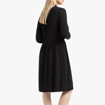 LA Redoute ワンピース La Redoute Flared Dress, long sleeves(4)