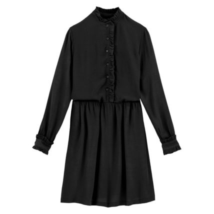 LA Redoute ワンピース La Redoute Flared Dress, long sleeves(5)