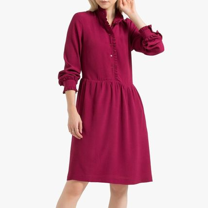 LA Redoute ワンピース La Redoute Flared Dress, long sleeves(6)