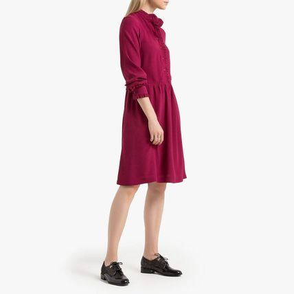 LA Redoute ワンピース La Redoute Flared Dress, long sleeves(7)