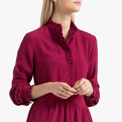 LA Redoute ワンピース La Redoute Flared Dress, long sleeves(8)