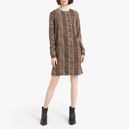 LA Redoute ワンピース La Redoute Dress python print, long sleeves(2)