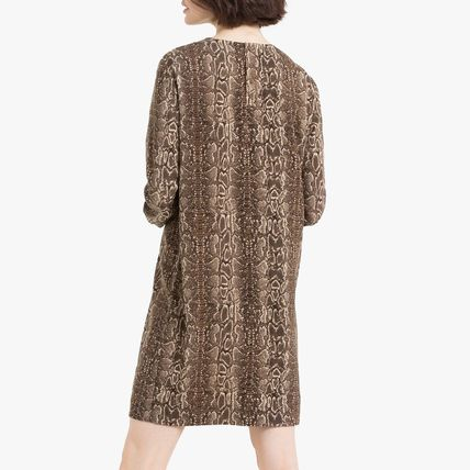 LA Redoute ワンピース La Redoute Dress python print, long sleeves(4)