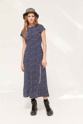 Urban Outfitters ワンピース ● Urban Outfitters ●人気 Lindsey ミディ丈 ワンピース 2色(3)