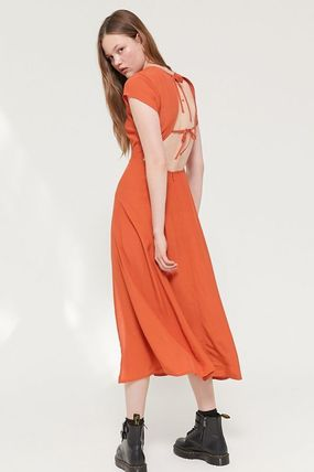 Urban Outfitters ワンピース ● Urban Outfitters ●人気 Lindsey ミディ丈 ワンピース 2色(7)