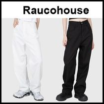 ☆RAUCOHOUSE☆ パンツ SS COTTON WIDE LONG PANTS 2色