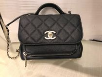 2019 CHANEL★再入荷 BUSINESS AFFINITY mini FLAPBAG in blk