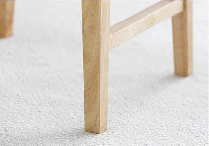 roomnhome 椅子・チェア SILIT WOOD BAR STOOL PU素材クッション 木製バースツール(17)