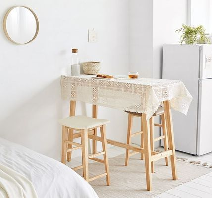 roomnhome 椅子・チェア SILIT WOOD BAR STOOL PU素材クッション 木製バースツール(13)