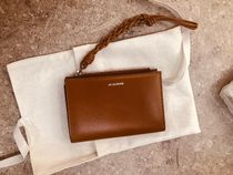 【Jil Sander】2019/20AW VERTICAL PRACTICAL WALLET SM (Brown)