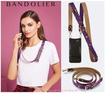 【NEW限定】Bandolier*Reese Leopard Strap*For ALL iPhone