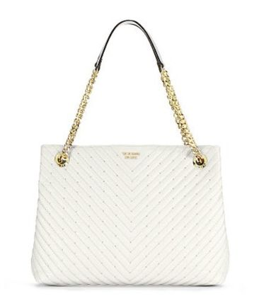 Victoria's Secret ショルダーバッグ・ポシェット 【Victoria's Secret】Studded V-Quilt Shoulder Tote