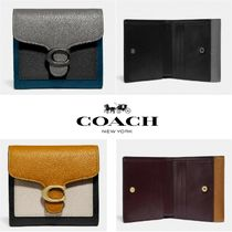 ★新作★日本未入荷★Coach★Tabby Small Wallet In Colorblock