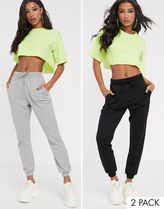 ASOS DESIGN basic jogger with tie 2 pack SAVE