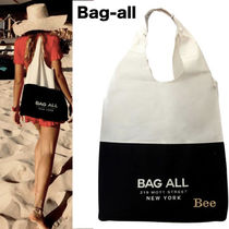 【Bag-all】関送込 NY発♡  TWO TONE トートバッグ
