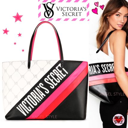 Victoria's Secret トートバッグ NEW!クールな2色♪ Logo Everything Tote(2)