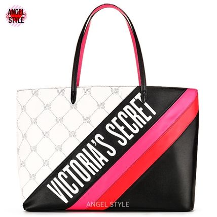 Victoria's Secret トートバッグ NEW!クールな2色♪ Logo Everything Tote(4)