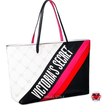 Victoria's Secret トートバッグ NEW!クールな2色♪ Logo Everything Tote(5)