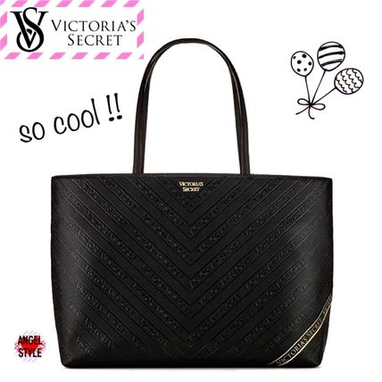Victoria's Secret トートバッグ NEW!クールな2色♪ Logo Everything Tote(7)