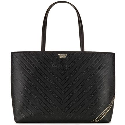 Victoria's Secret トートバッグ NEW!クールな2色♪ Logo Everything Tote(9)