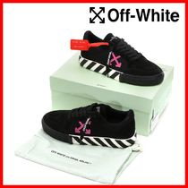 関税負担★人気★【Off-White】★LOW VULCANIZED SNEAKERS★