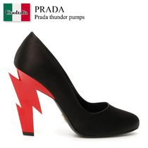 Prada thunder pumps