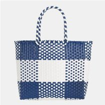 【SHOOPEN】 Weaving basket bag BLBK19S57
