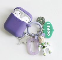 ★bomgom★ミニチャーム付き AirPods ケース バズ