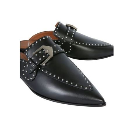 GIVENCHY シューズ・サンダルその他 【GIVENCY】STUDDED LEATHER LOAFERS(3)