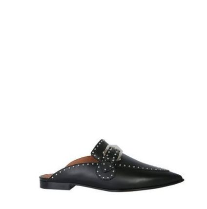 GIVENCHY シューズ・サンダルその他 【GIVENCY】STUDDED LEATHER LOAFERS(4)