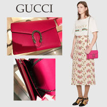 GUCCI [SALE] かわいい♪ 鮮やかピンク 2way バッグ★国内発送